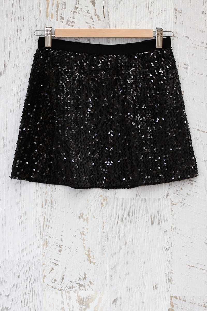 Lucena Sequined Skirt