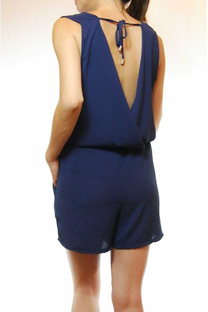 Mimi Open Back Playsuit