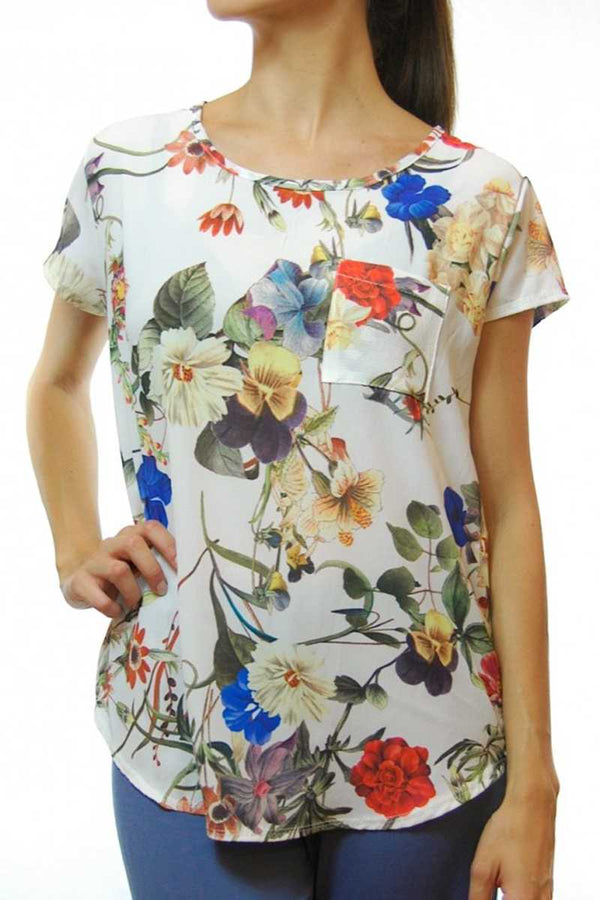 Ainara Floral Print Top - Talis Collection