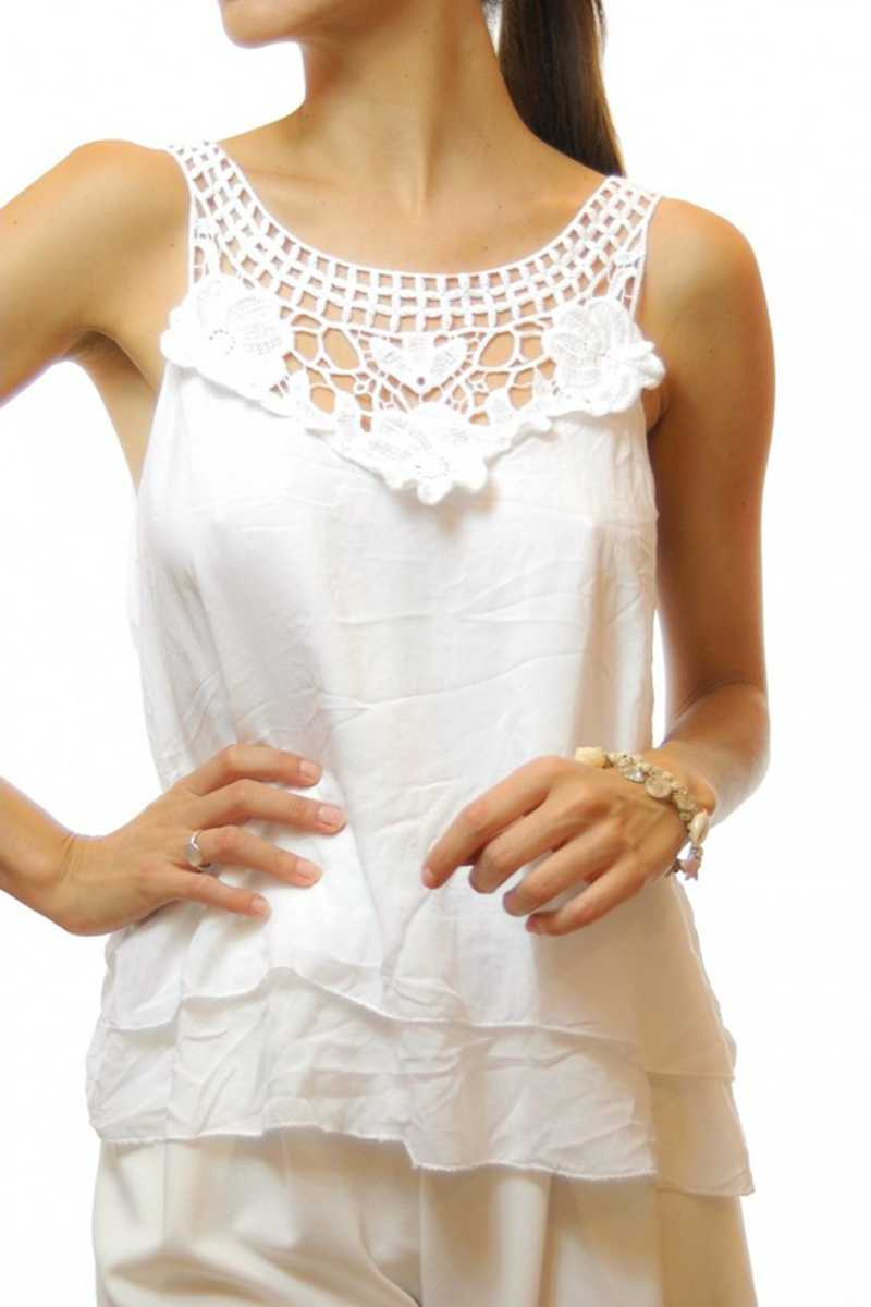 Lidia Cut Out Top