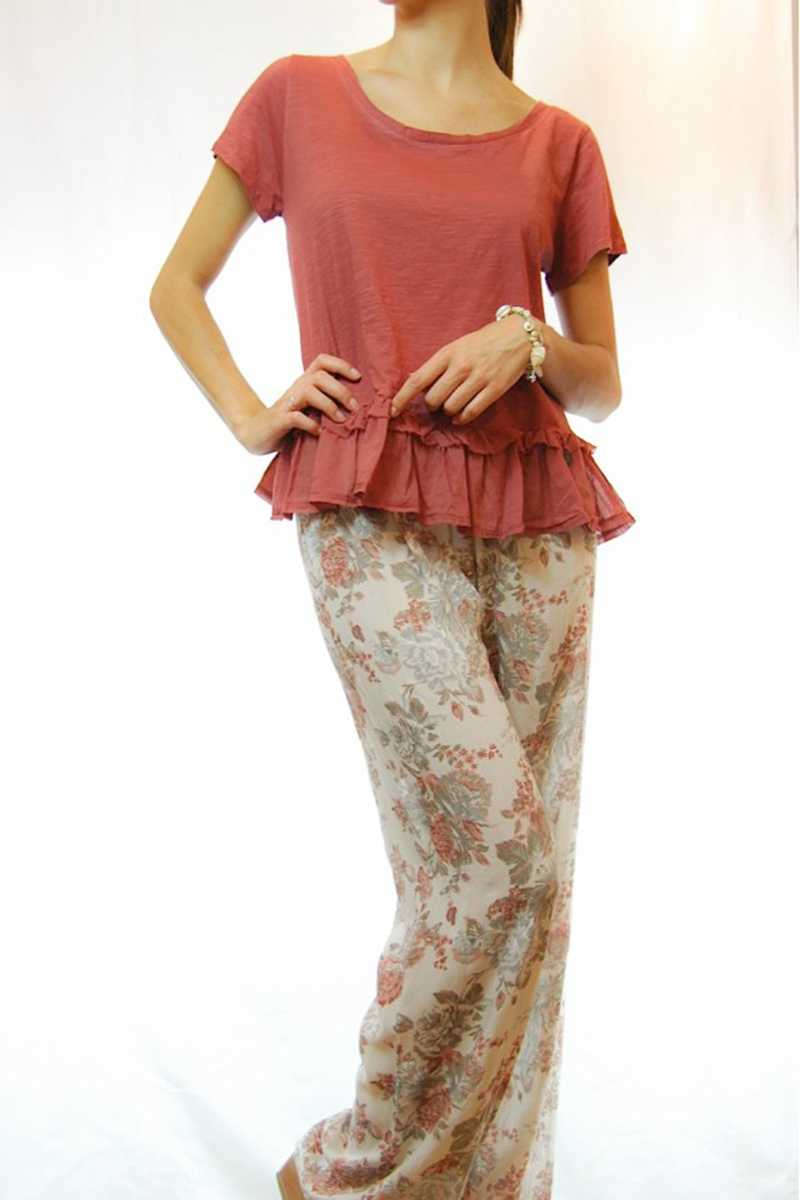 Alandra Ruffle Top - Talis Collection