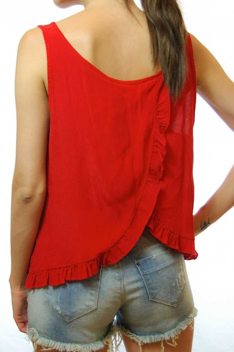 Lucena Split Back Top