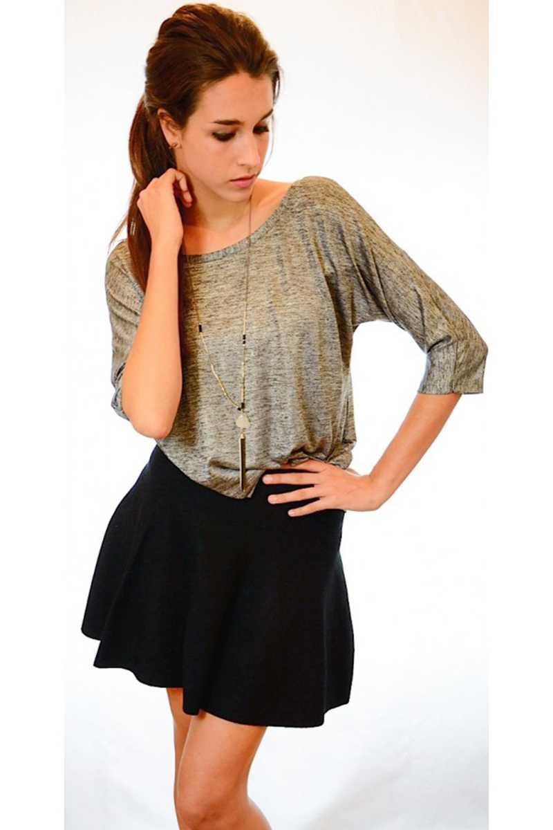 Tulia Lurex Top with Strap