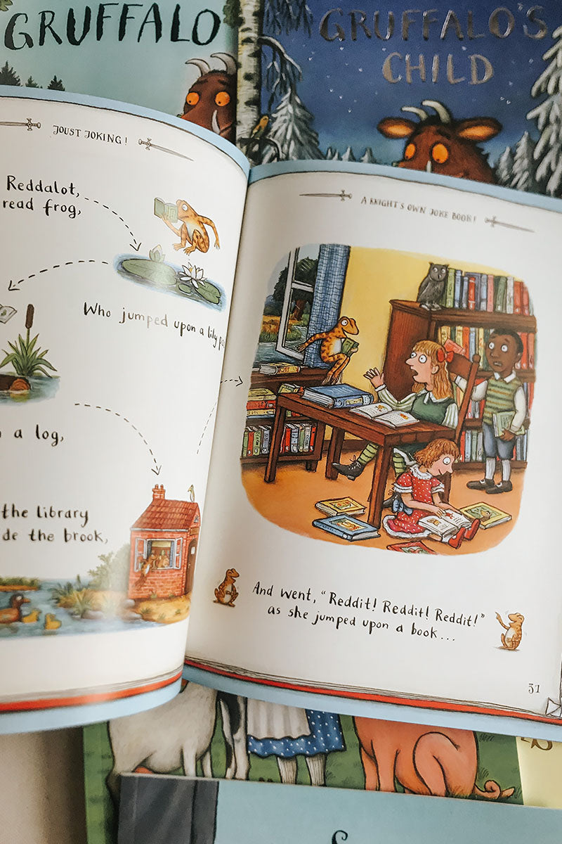 Julia Donaldson 10 Book Collection - Charlie Cook's favourite book