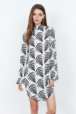 ISLA Diversity Print Mini Dress