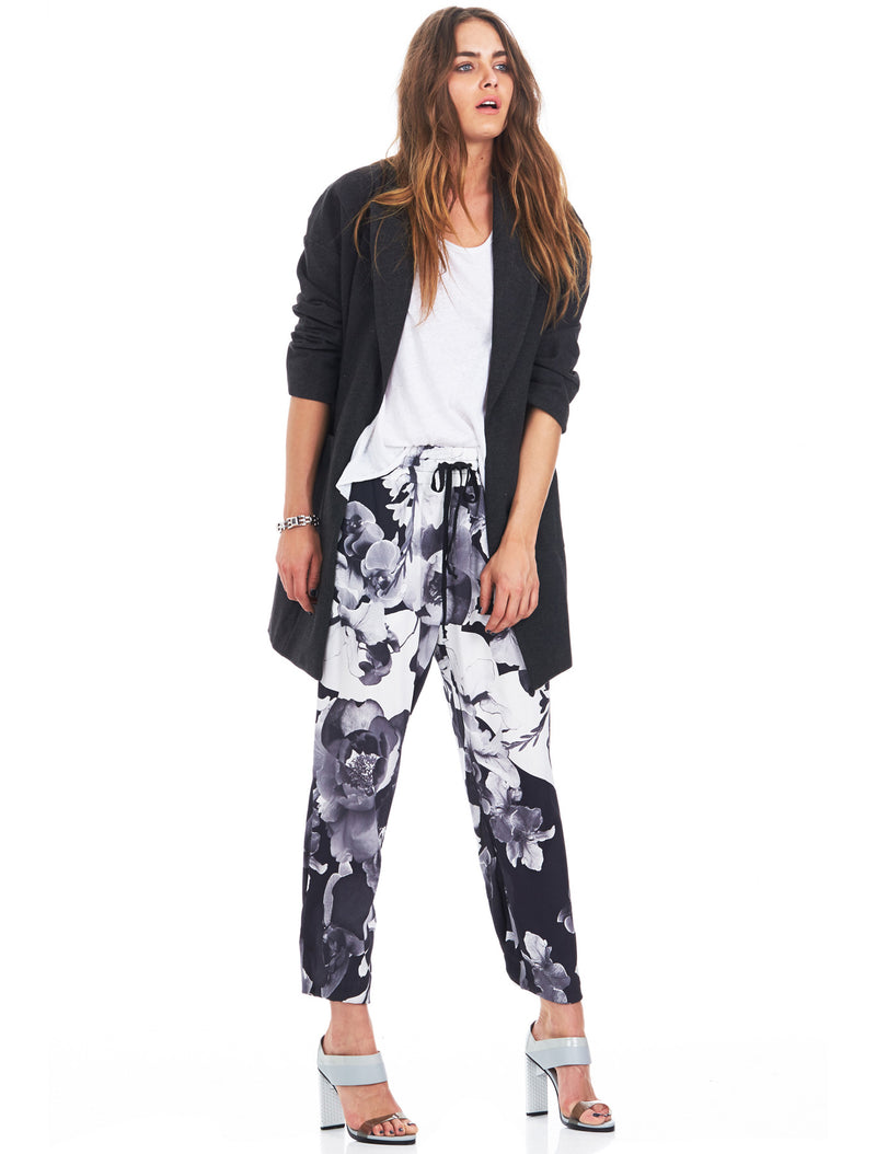 ISLA First Kiss Floral Print Casual Pants