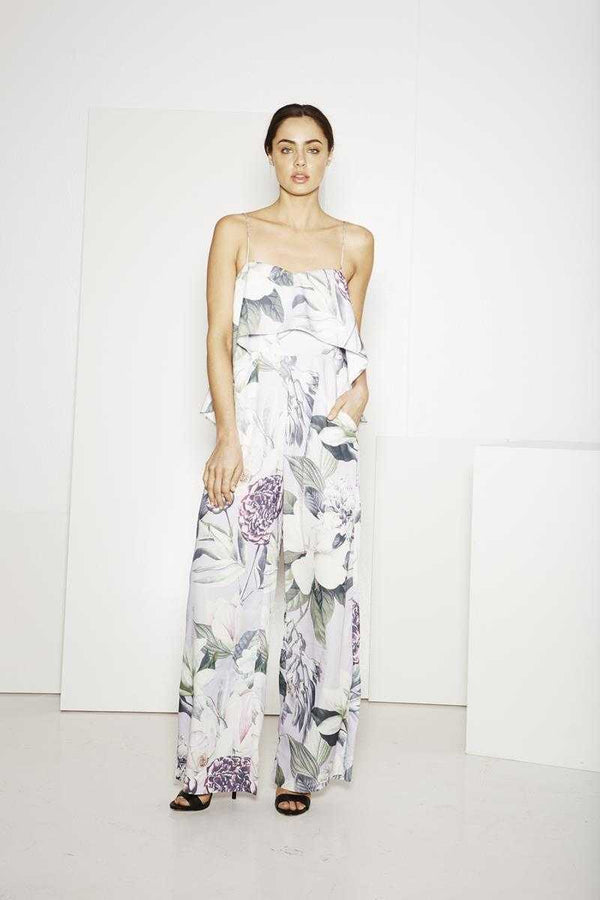 ISLA Waiting Game Floral Jumpsuit