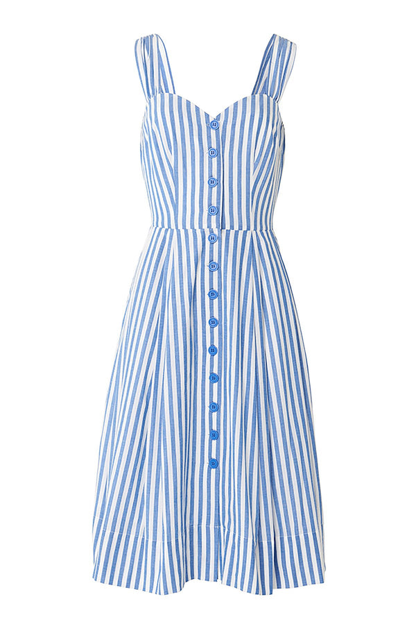 Emily and Fin Jenny Sleeveless Dress Sunlounger Stripe PRE-ORDER