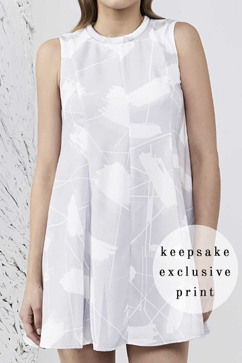 Keepsake Sun Up Mini Dress