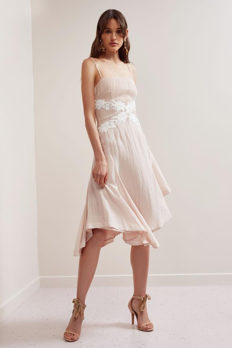 Keepsake All Mine Midi Dress Shell