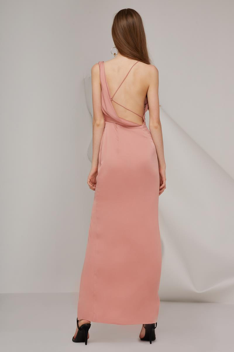 Keepsake Sidelines Maxi Gown Rose