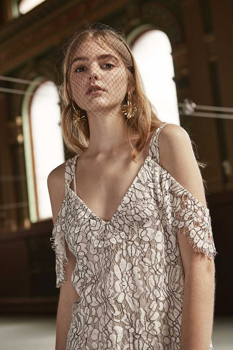 Keepsake Heartbreaker Lace Midi Dress