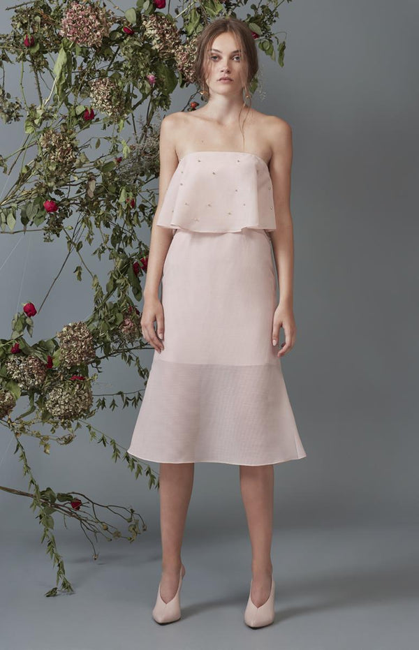 Keepsake Call Me Dress Blush