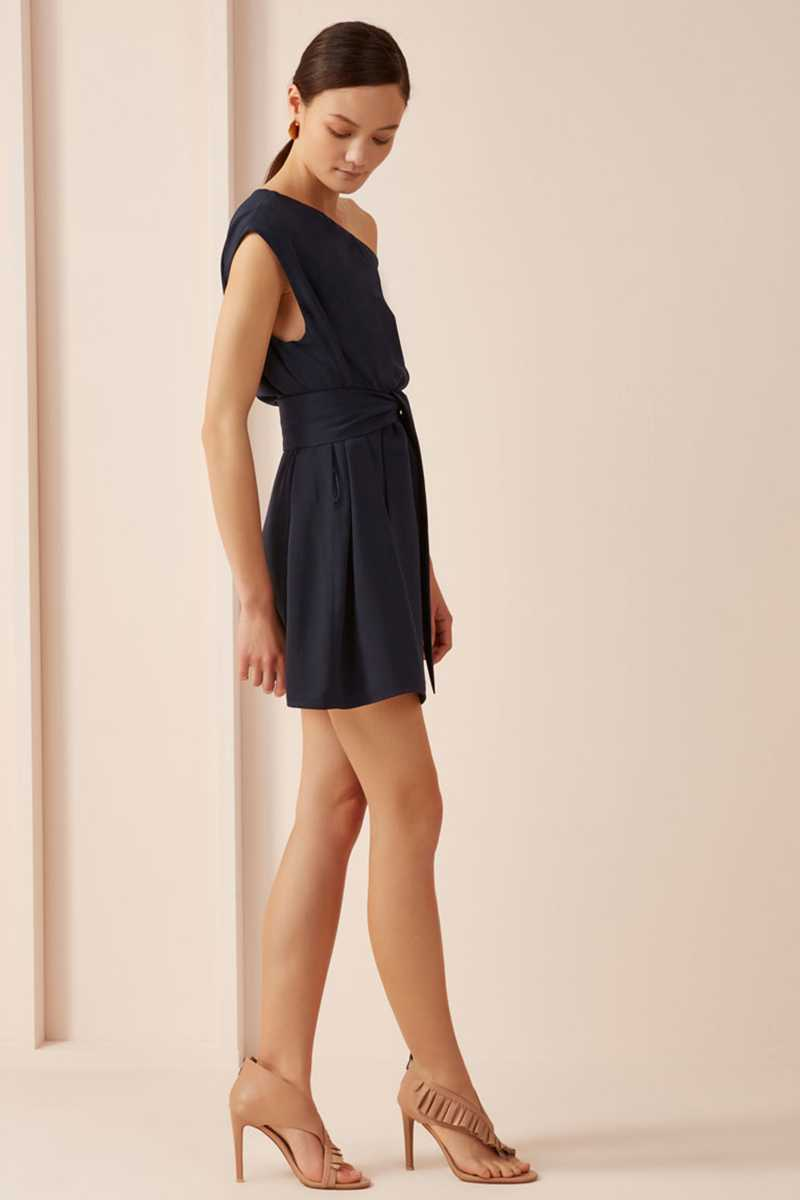 Keepsake Meadows Mini Dress Navy