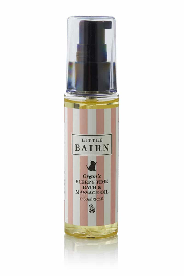 Little Bairn Organic Sleepy Time Bath & Massage Oil 60ml