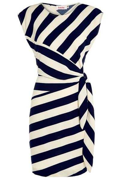 Louche London Badger Stripe Work Dress Size 10