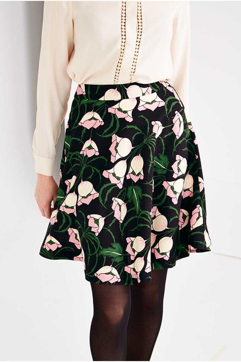 Louche London Billie Sue Flower Skirt