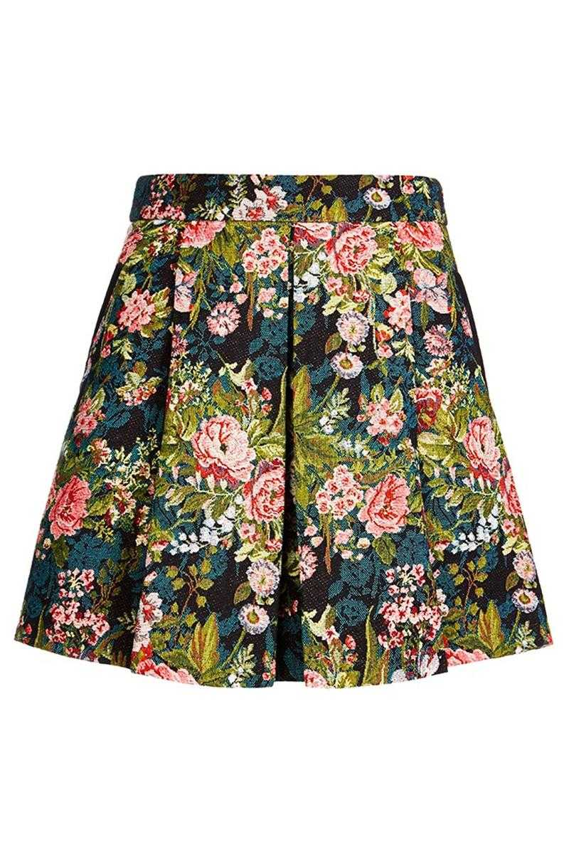 Louche London Hasina Floral Skirt
