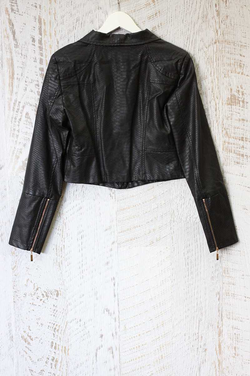 Lucy Paris Laura Moto Jacket
