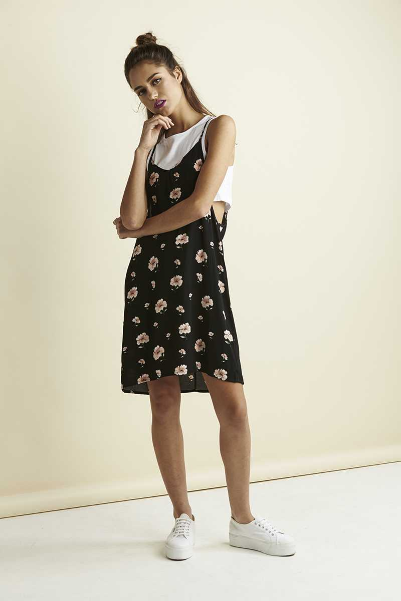 Lulu & Rose Lowden Layered Slip Dress
