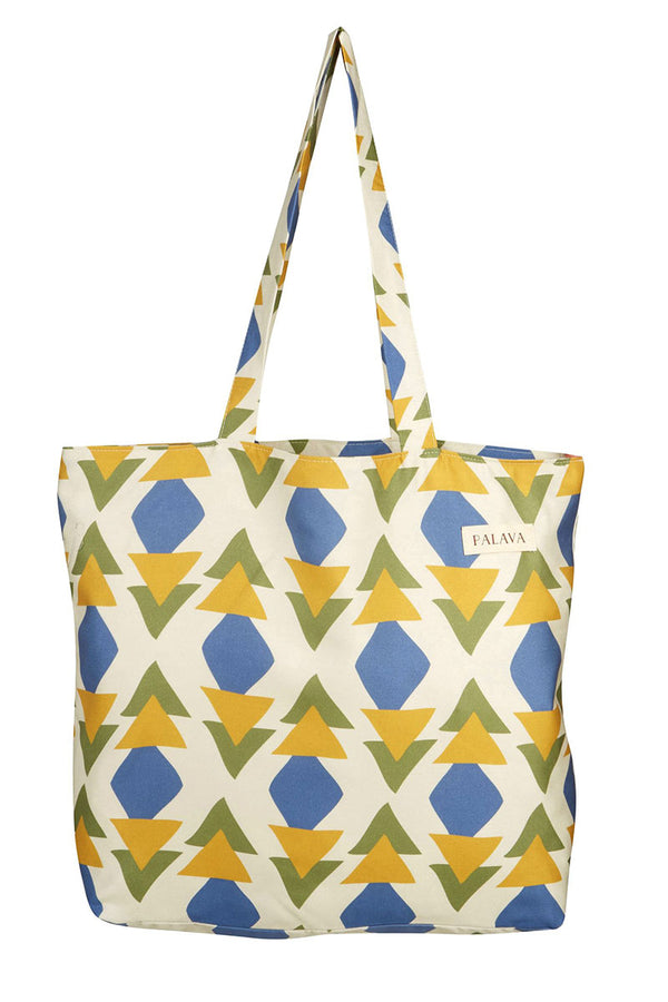 Palava Large Shopper Bag Multi Quantum