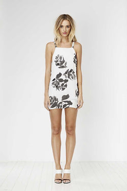 May the Label Hours Dress Rose Print