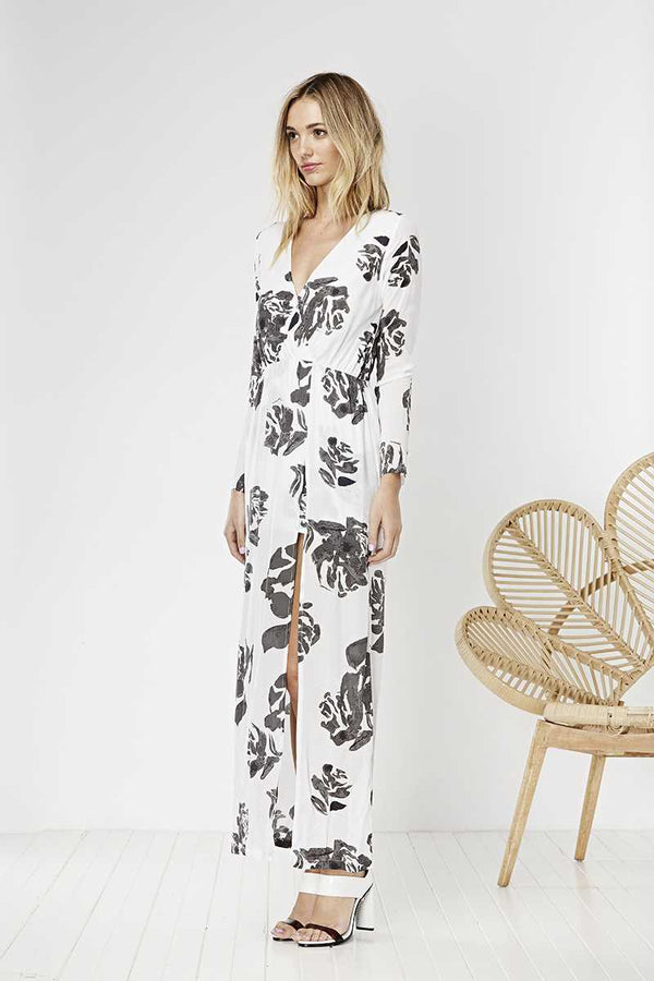 May the Label Soulmate Dress Rose Print