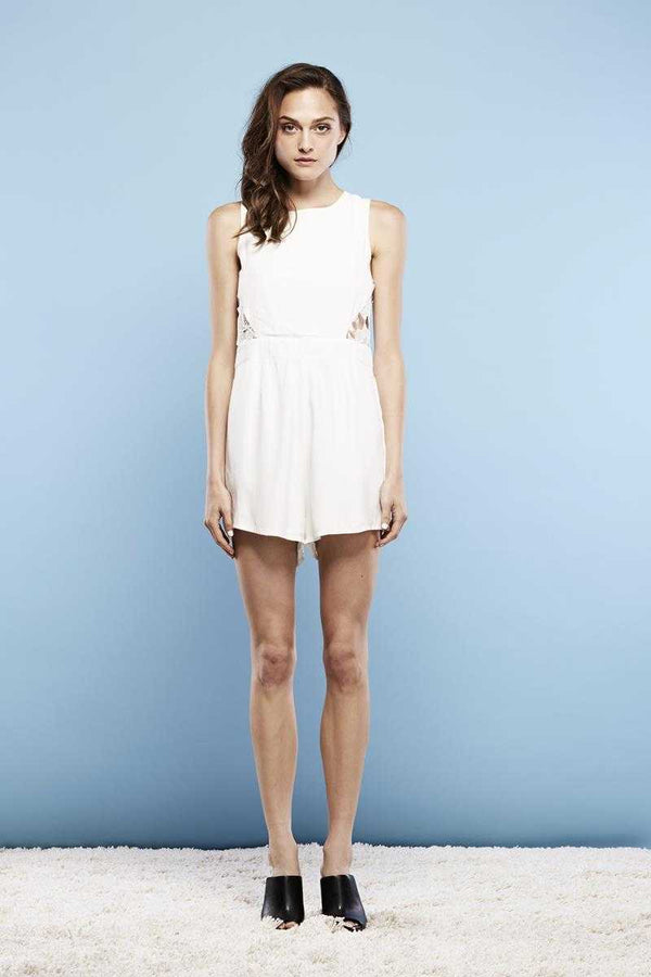 May the Label Idea Lace Playsuit
