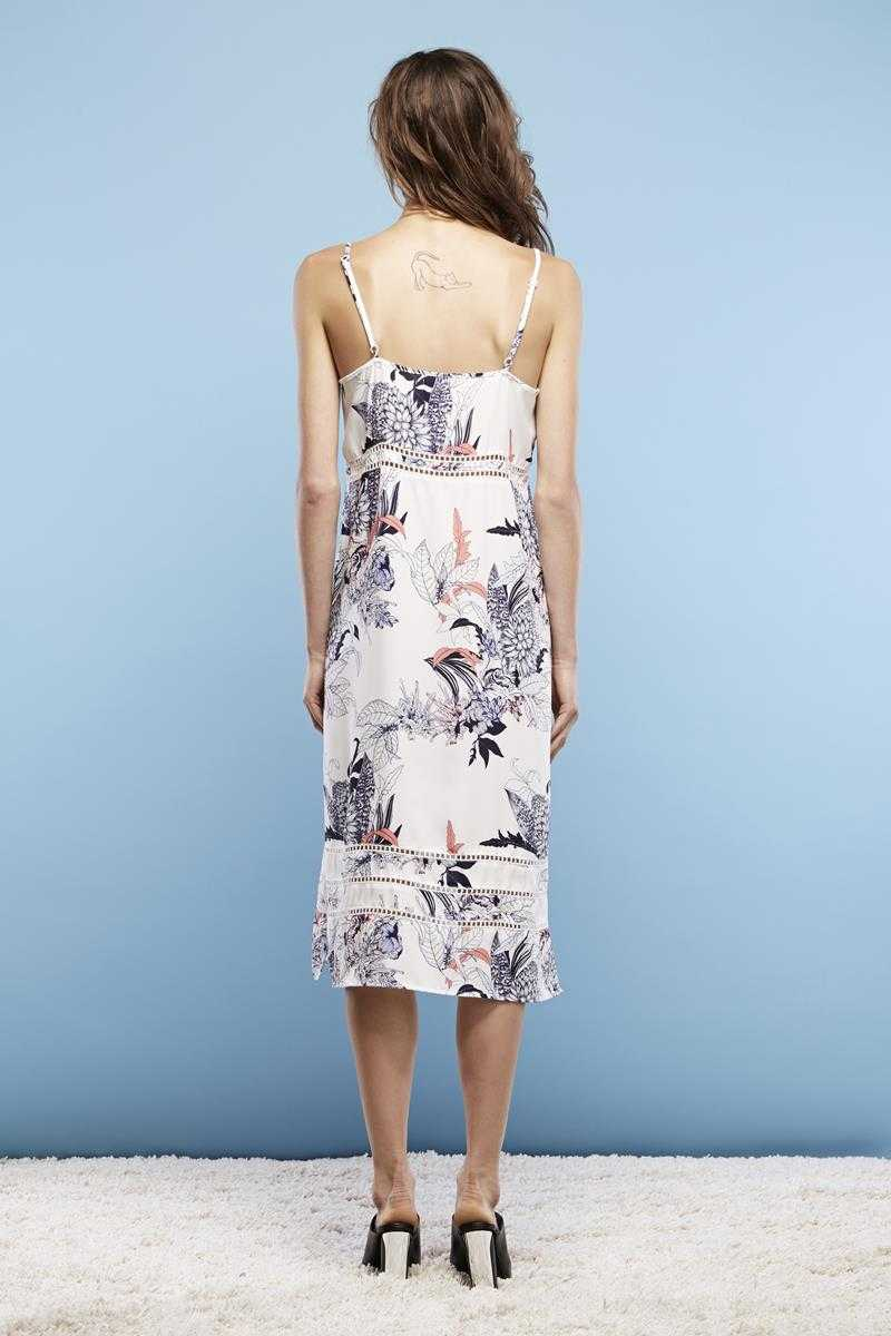May the Label Float Midi Dress Dream