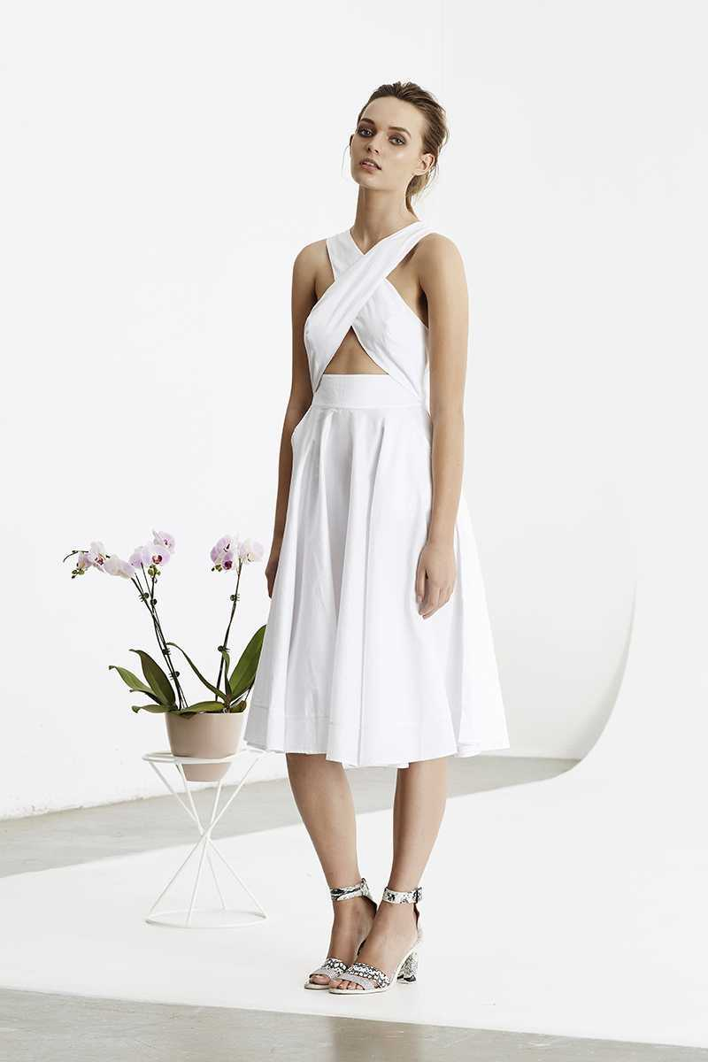 May the Label Compendium Dress White