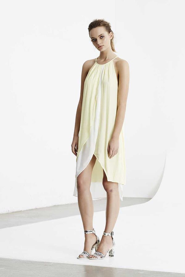 May the Label Elouise Halter Dress
