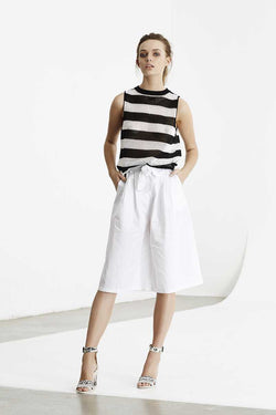 May the Label Uptown Knit Tank Stripe