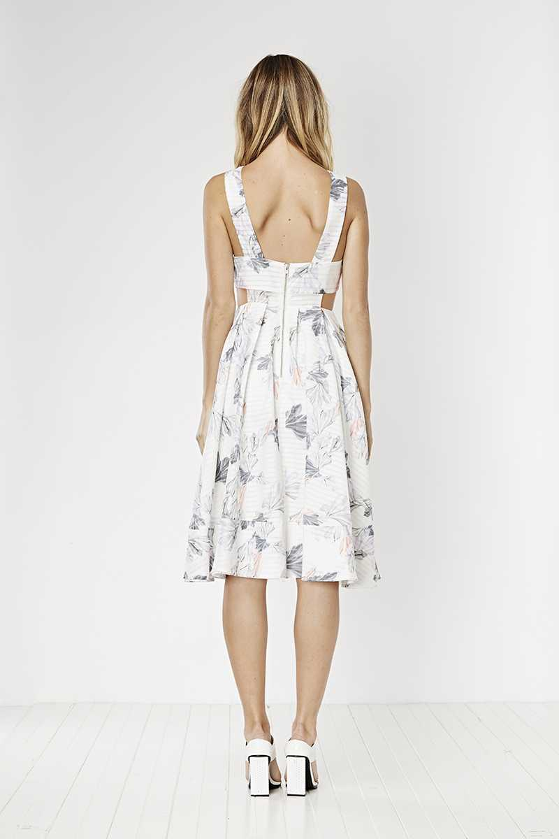 May the Label Friday Midi Dress Elle Print
