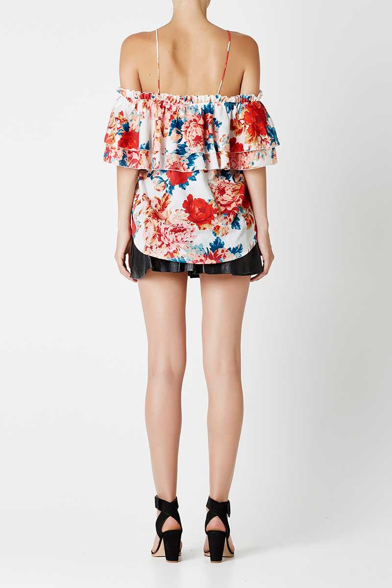May the Label Mia Top Floral Print
