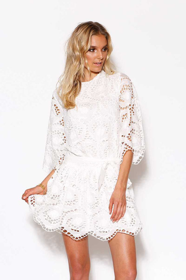 Ministry of Style Closing Scene Dress Ivory