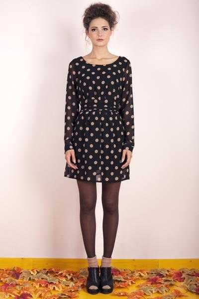 Dafne Polka Dot Dress