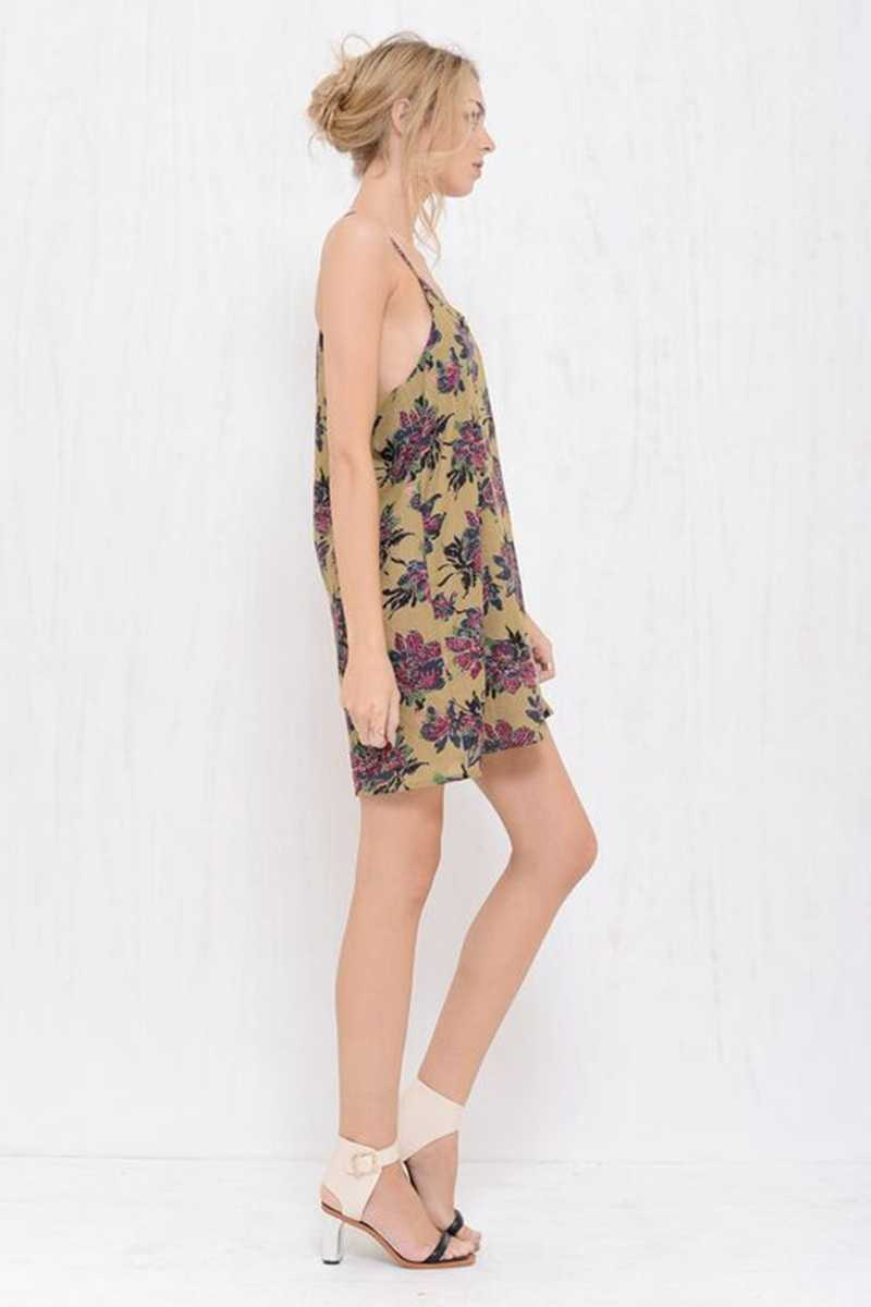 Morrisday Marianne T Back Floral Dress