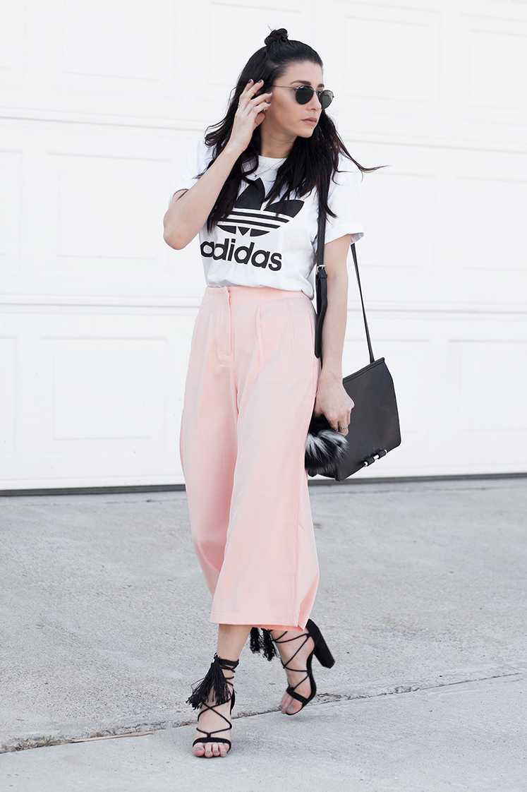Morrisday Executive Wide Pants Pink