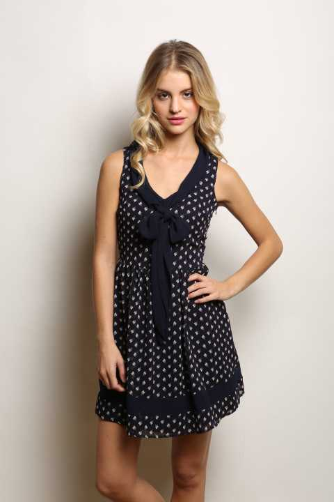 Tossa Tulip Print Dress
