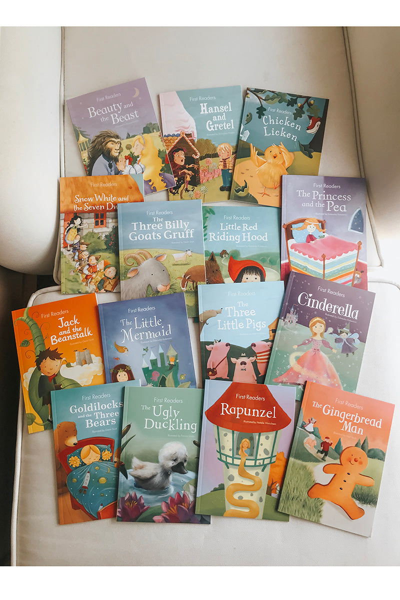 My First Readers Collection Box Set - 15 books (ages 2+)