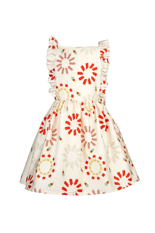 Palava Children's Claudia Dress Ice Creams