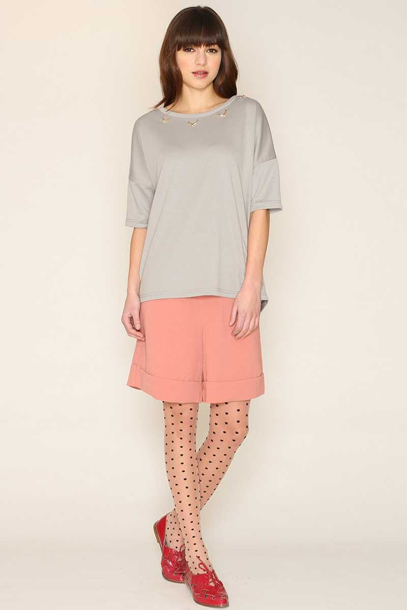 Pepaloves Imogen Pink Tailored Short