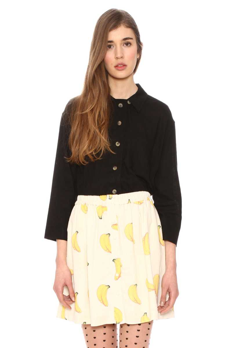 Pepaloves Delfina Banana Skirt Yellow