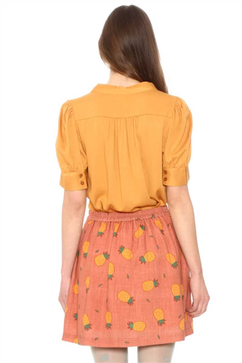 Pepaloves Fidela Pineapple Skirt Orange
