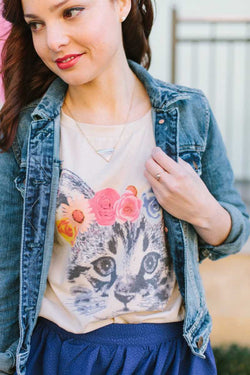 Pepaloves Hawaian Cat Tshirt