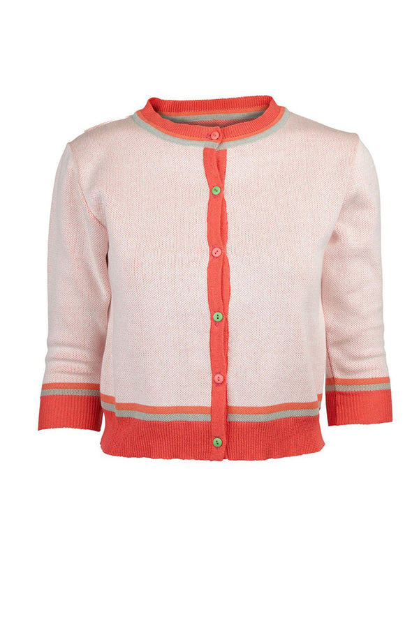 Palava Classic Cardigan Coral Lobster (Pre-Order)