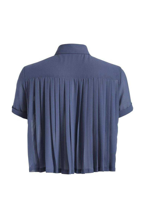Sugarhill Boutique Jenny Pleat Blouse