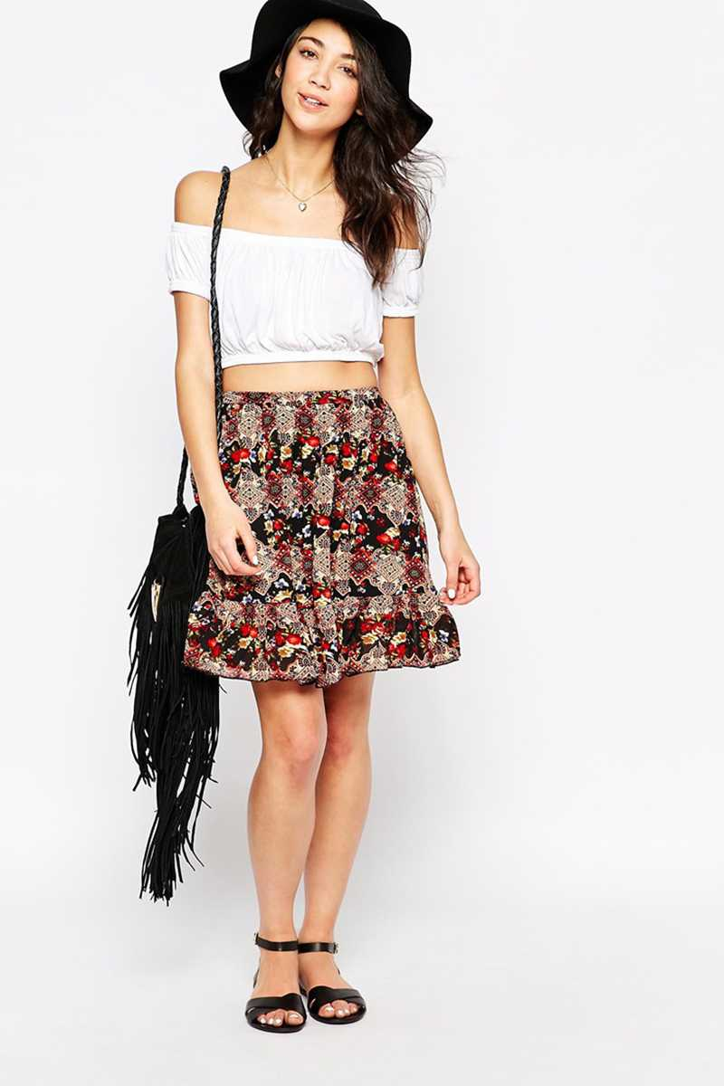 Poppy Lux Isla Rara Skirt