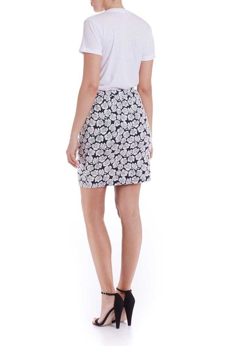Poppy Lux Pippa Rose Jersey Skirt