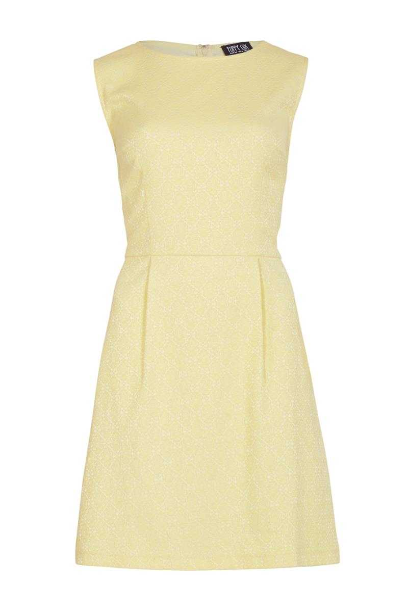 Poppy Lux Veannah Jacquard A-line Shift Dress